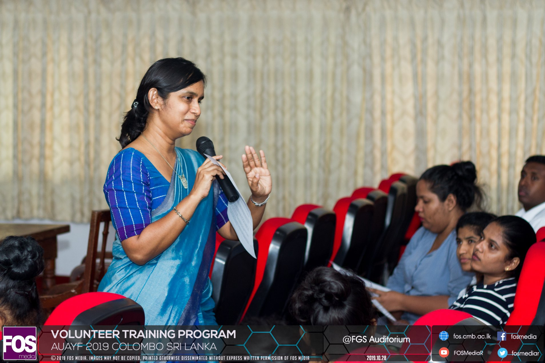 AUAYF 2019 – Volunteer Training Program